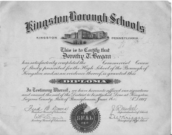 dorothy_beegan_diploma